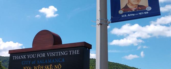 Hometown Hero Sign